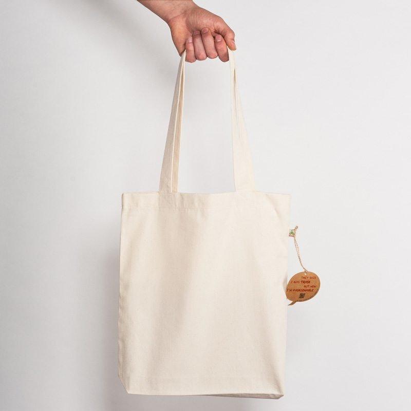 Salvage SA60 Recycled Natural Shopping Bag