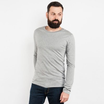 Mens Organic Cotton Longsleeve T-Shirt