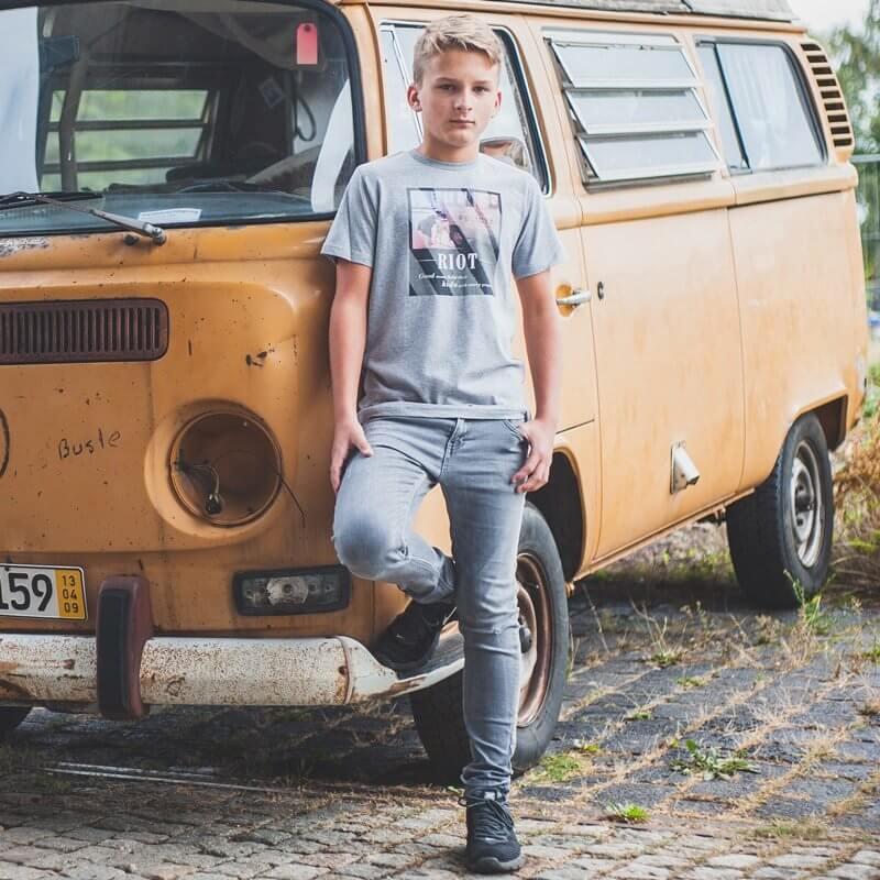 icificis Riot Kids Organic Low Carbon Cotton T-Shirt