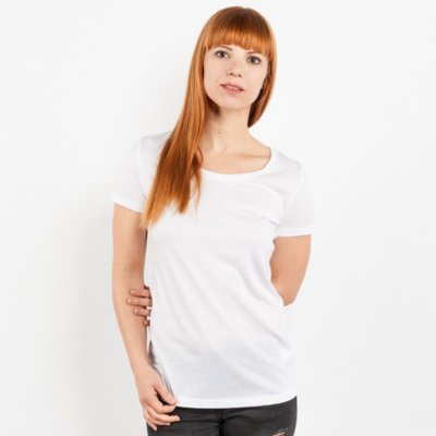 Stella Loves Ladies Lightweight Organic Cotton Modal T-Shirt - Chrissi Front