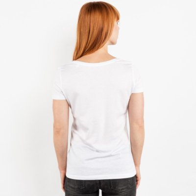 Stella Loves Ladies Lightweight Organic Cotton Modal T-Shirt - Chrissi Back