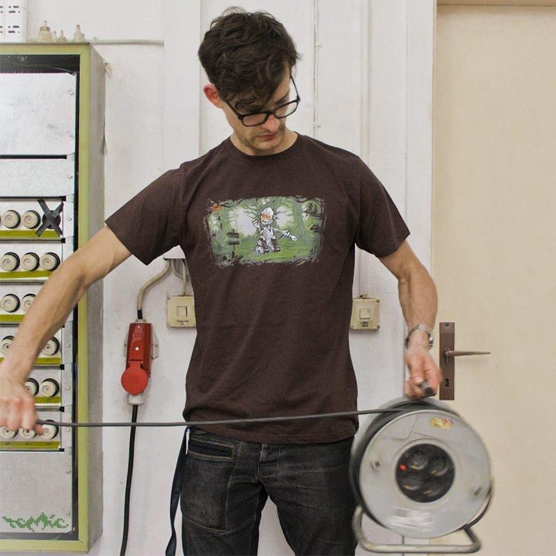 Tomic Energy Crisis Mens Classic Cotton T-Shirt Marco