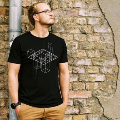 ruestungsschmie.de Infografic Mens Organic Bamboo T-Shirt