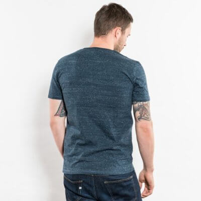 Stanley Hips Mens Heavyweight Organic Cotton T-Shirt - Back